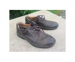 Men's Ecco Casual Leather Shoes -- Very Comfortable!