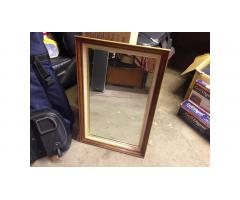 Vintage Mid-Century Mirror -- Wall Mirror, Very Nice!