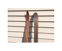 Vintage Wood Cross Country Skis -- Beautiful Pair!