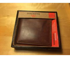 Men's Leather Wallet -- BNIB