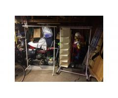 Free Clothes Racks -- One IKEA, Both w/Wheels