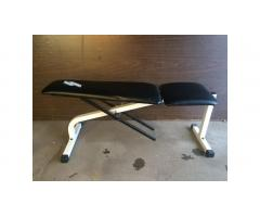 Weight Bench -- Incline, Adjustable, Hard to Find!