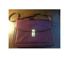 Jack Georges Briefcase -- High-End Bag, Very Nice Condition!