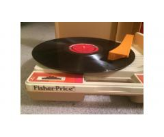 Fisher Price Record Player -- Very Cool!
