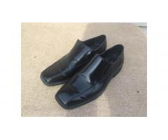 Calvin Klein loafers -- Men's, Black Leather, Dressy!