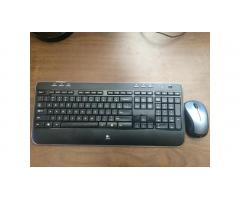 Wireless Keyboard and Mouse -- Like New, Low Price!
