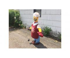 Gemmy Homer  Simpson -- 5' Tall, Sings and Raps, Awesome!
