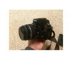 Sony Alpha DSLR A230 Digital Camera -- Great Unit, Low Price!