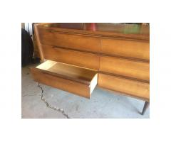 Mid-Century Dresser Drawers -- Handsome Piece!