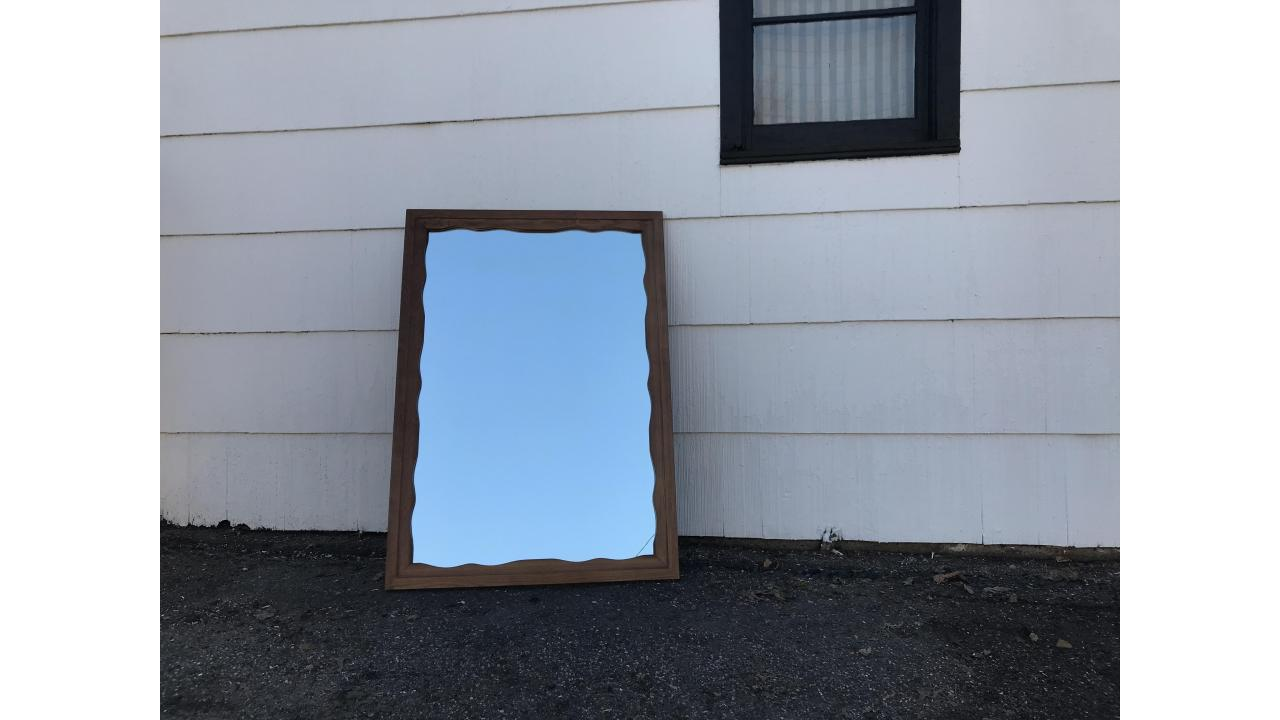 Wall Mirror -- Mid-Century, Large!