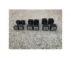 Dumbbells Hand Weights Set -- Reebok, Great Weights!