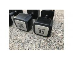 Dumbbells Hand Weights Set -- Reebok, Great Weights!