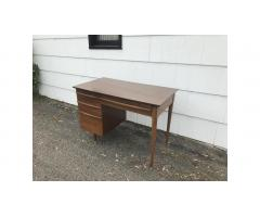 Mid-Century Desk -- Clean Lines, Very Nice!
