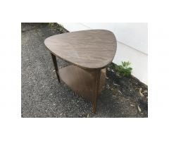 Mid-Century Table -- Guitar Pick Style, Low Price!