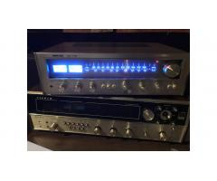 Vintage Receiver -- Nikko NR-715, LEDs, Sounds Great!