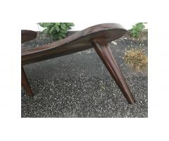 Mid Century Coffee Side Plant Table -- Great Design, Low Price!