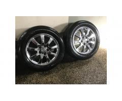 Toyota Lexus Chrome Wheels - Very Cool!