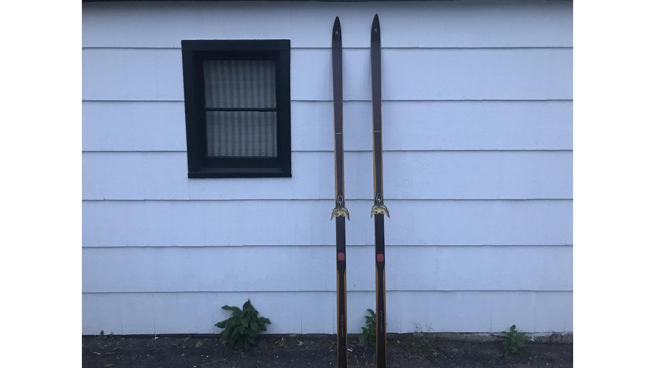 Vintage Wood Cross Country Skis - Beautiful Pair!