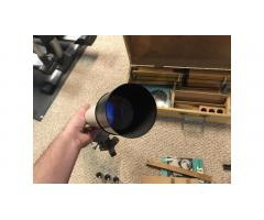 Vintage Jason Jupiter Telescope Kit -- Wood Stand, Hard to Find!
