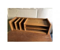 Danish Modern Mail Sorting Shelf -- Neat Piece!