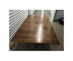 Mid Century Drop Leaf Hideaway Table and Chairs