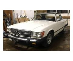1985 Mercedes 380sl Convertible Roadster R107 -- Great Project!