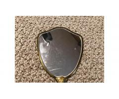 Vintage Antique Hand Mirror -- Nice Old Mirror!