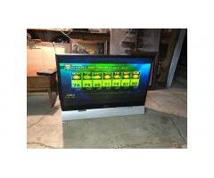 "Big Screen 52"" HDTV -- Color is Off, Use Outside for Summer"