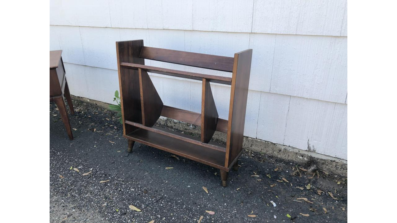 Mid-Century Modern Bookshelf -- Unique Piece!